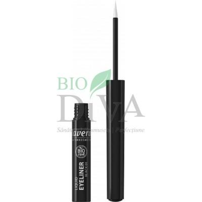 Tuș lichid pentru conturul ochilor Negru 2,8ml Lavera