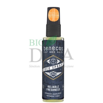 Deodorant spray pentru bărbați 75ml Benecos
