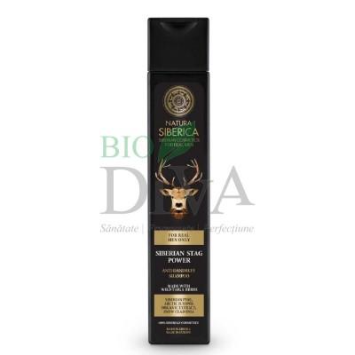 Șampon antimătreață pentru bărbați Stag Power 250ml Natura Siberica