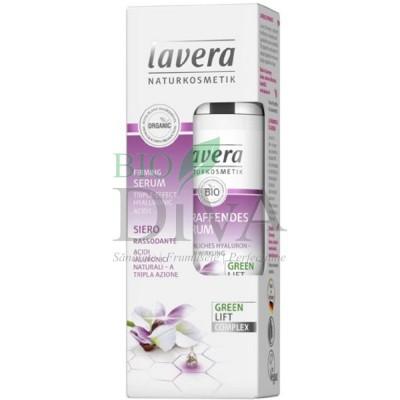 Serum pentru fermitate cu ceai alb, karanja și acid hialuronic 30 ml Lavera