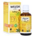 Ulei pentru burtica bebeluşului ce calmează colicii Weleda