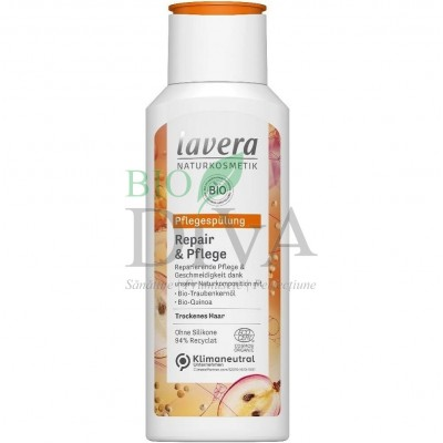 Balsam reparator cu struguri și quinoa pentru păr normal și uscat 200 ml Lavera