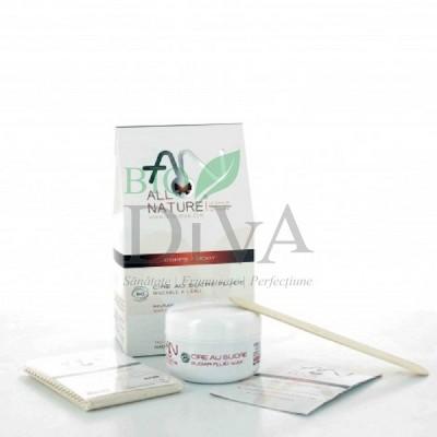 Kit pentru epilare cu ceară de zahăr Allo'Nature