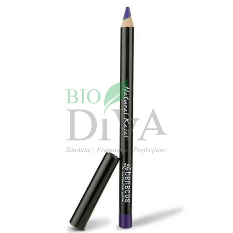 Creion de ochi kajal bio Night Blu (blu-marin) Benecos