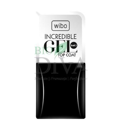 Lac top coat Incredible Gel 8,5 ml Wibo