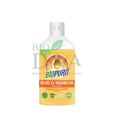 Detergent universal concentrat cu ulei de portocale hipoalergenic Biopuro