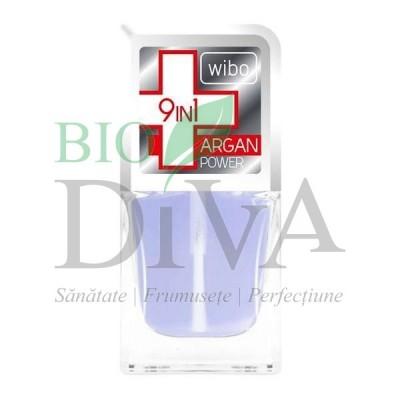 Tratament complet pentru unghii 9 in 1 Argan Power 8,5 ml Wibo
