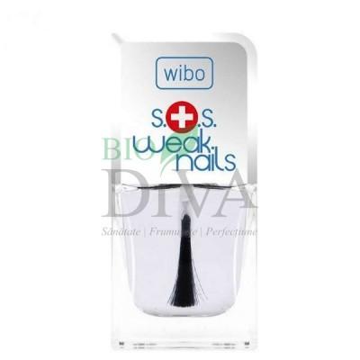 Tratament SOS pentru unghii fragile bază și top coat 8,5 ml Wibo