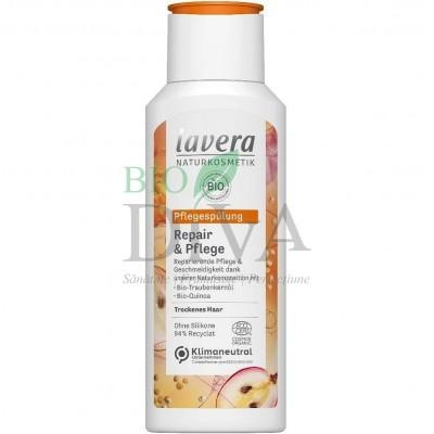 Șampon reparator cu struguri și quinoa pentru păr normal și uscat 200 ml Lavera
