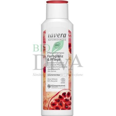 Șampon pentru păr vopsit cu rodie și quinoa Colour Care 250 ml Lavera