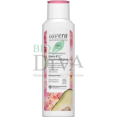 Șampon pentru strălucire cu avocado și quinoa Gloss Shine 250 ml Lavera