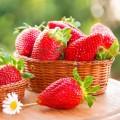 Mousse delicios pentru corp cu căpșuni