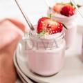 Mousse delicios pentru corp cu iaurt