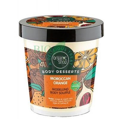 Sufleu delicios pentru corp Moroccan Orange Organic Shop