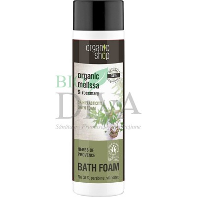 Spumant de baie cu melissa și rozmarin Herbs Of Provence 500 ml Organic Shop