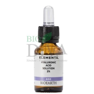 Acid hialuronic Beauty Booster Elementa 15 ml Bioearth