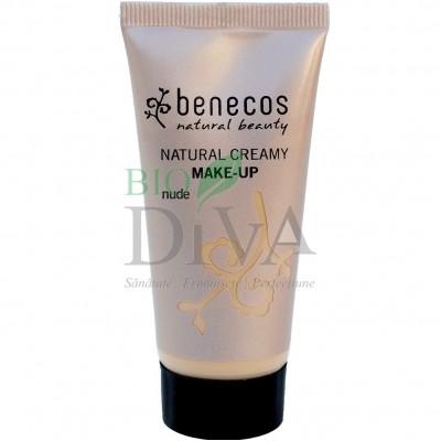 Fond de ten bio Nude (ten deschis) 30 ml Benecos
