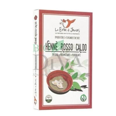 Henna Roșu Cald Le Erbe di Janas