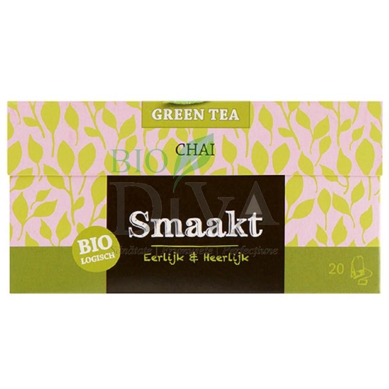 Ceai verde Bio Chai 20 de plicuri Smaakt
