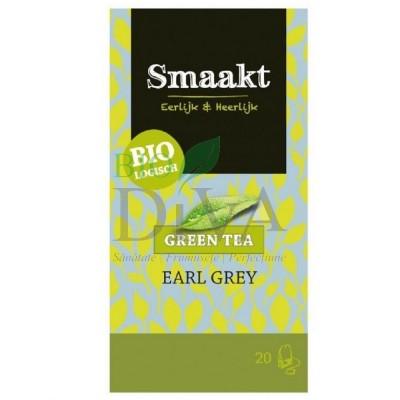 Ceai verde Earl Grey Smaakt