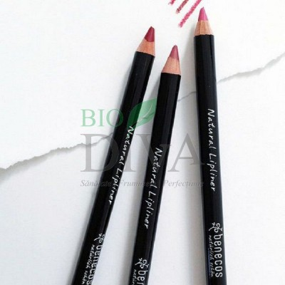 Creion bio pentru conturul buzelor Benecos
