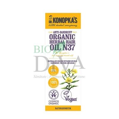 Ulei organic no. 37 tratament pentru mătreață Dr. Konopka