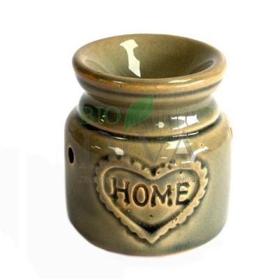 Lampă mică pentru uleiuri esențiale Blue Stone Home Ancient Wisdom