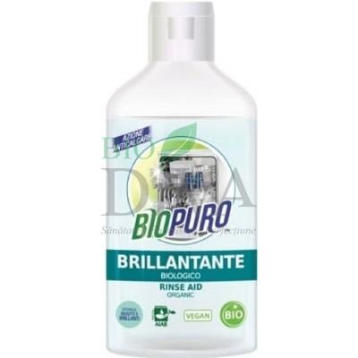 Soluție de clătire pentru mașina de spălat vase Biopuro
