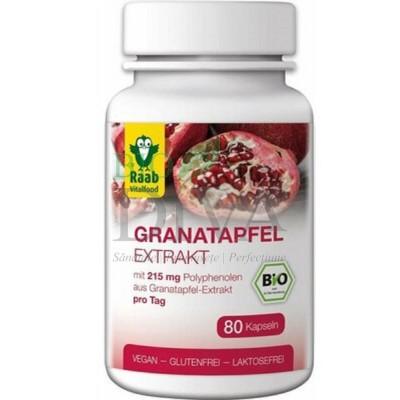 Extract de rodie Bio 80 capsule Raab Vital Food
