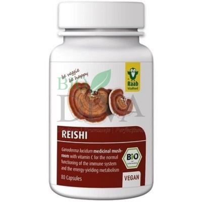 Reishi extract capsule vegane Raab Vitalfood