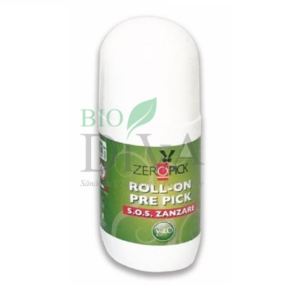 Roll-on bio împotriva înțepăturilor de țânțari și insecte 50 ml ZeroPick