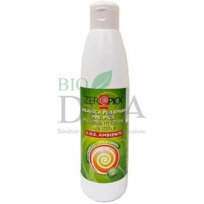 Spray ambiental bio împotriva țânțarilor Refill 250 ml ZeroPick