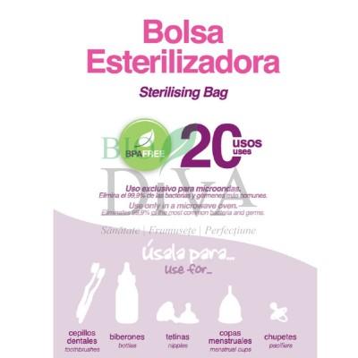 Pungă sterilizatoare pentru cupa menstruală Iriscup 1 buc Irisana
