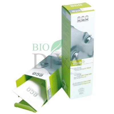 Gel de curățare bio cu ceai verde și echinacea 125 ml Eco Cosmetics