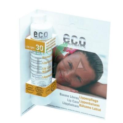 Balsam de buze bio cu protecție solară înaltă SPF 30 Eco Cosmetics