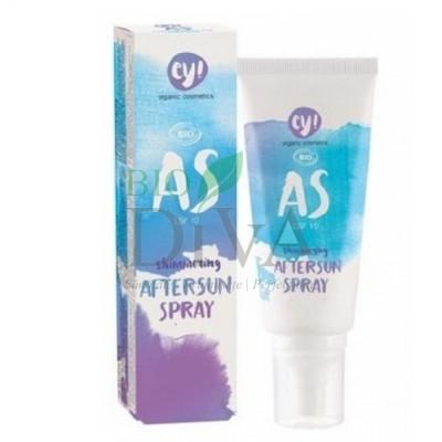 Spray after sun cu SPF 10 și particule aurii Ey! 100 ml Eco Cosmetics