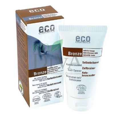 Fluid autobronzant bio pentru față și corp cu rodie și extract de goji Eco Cosmetics