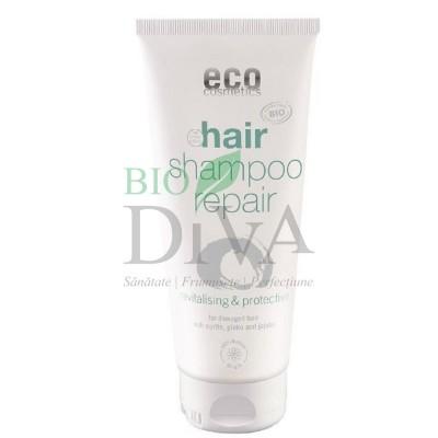 Șampon reparator bio cu mirt și gingko biloba 200 ml Eco Cosmetics