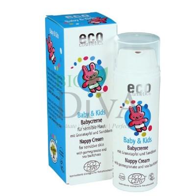 Cremă iritații scutec cu rodie și cătină albă 50 ml Eco Cosmetics