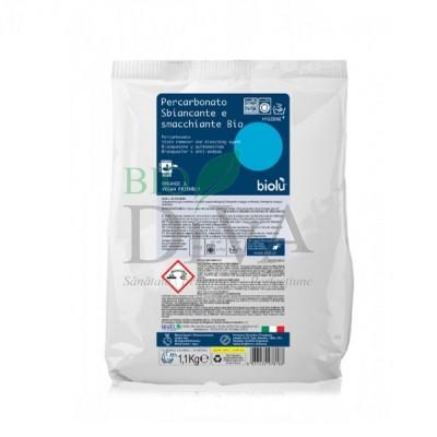 Detergent pudră pentru îndepărtat pete ecologic 1,1 kg Biolu