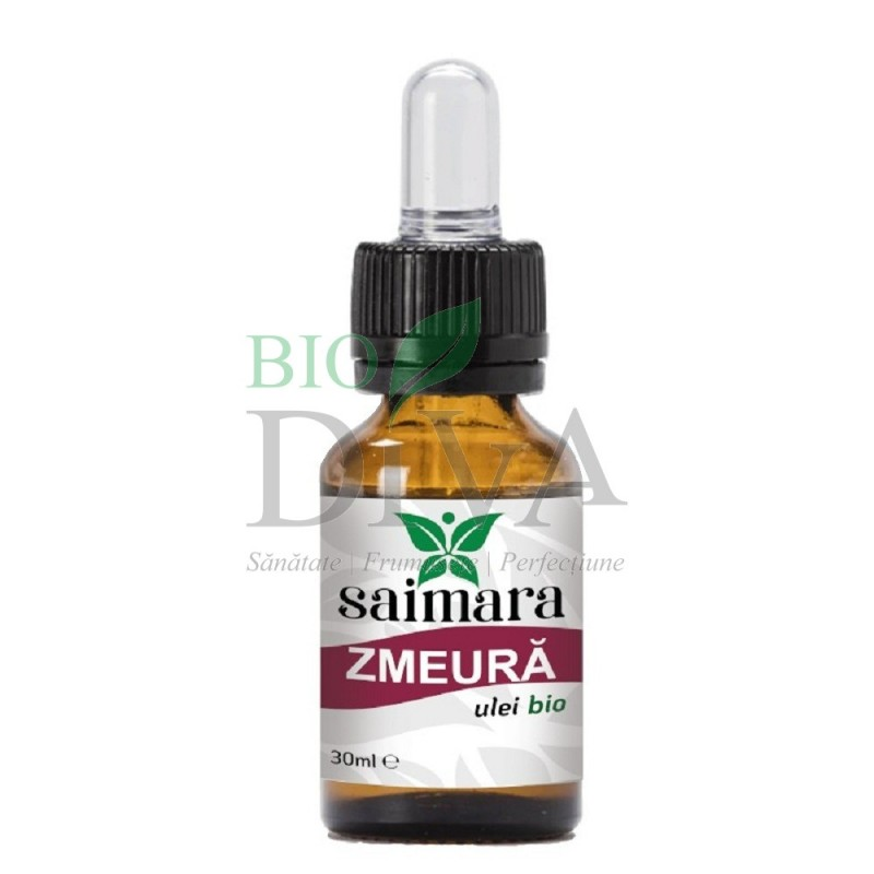 Ulei de zmeură bio 30 ml Saimara