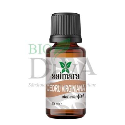 Ulei esențial de cedru 10 ml Virginiana Saimara