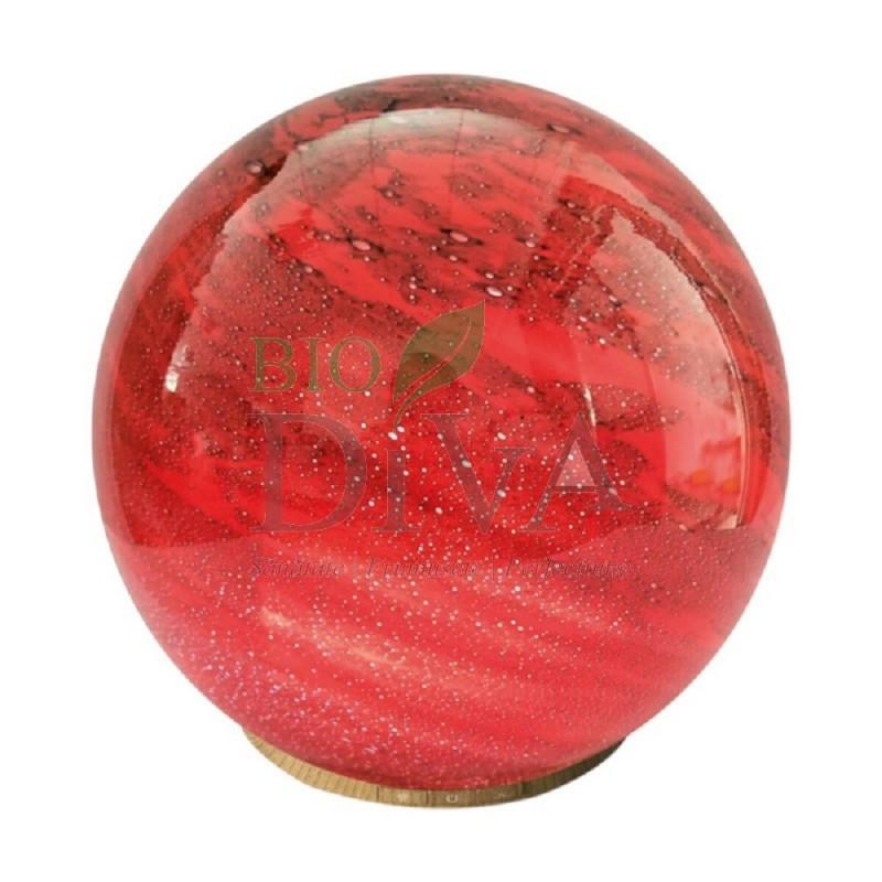 Difuzor aromaterapie Crystal Roșu Saimara