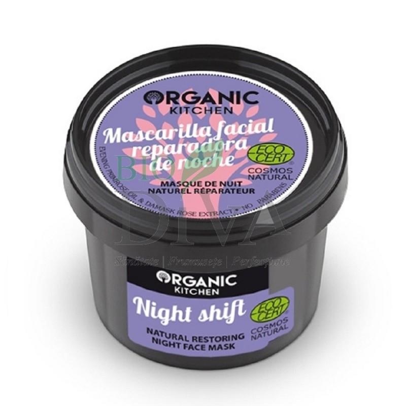 Mască de noapte reparatoare cu primulă Night Shift 100 ml Organic Kitchen