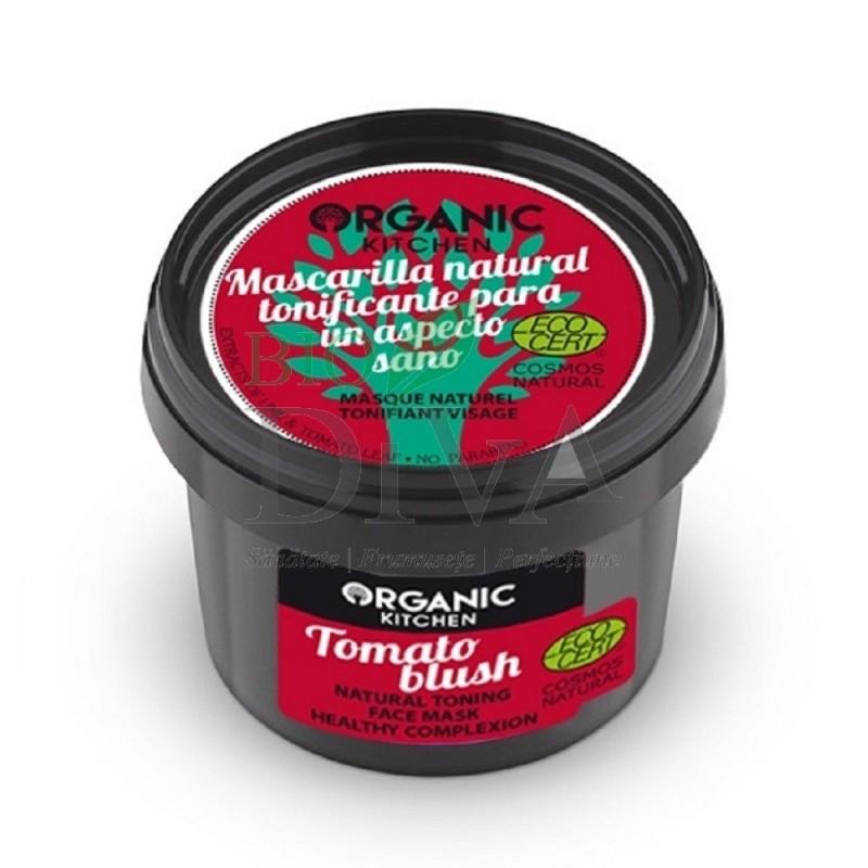 Mască tonifiantă pentru ten Tomato Blush 100 ml Organic Kitchen