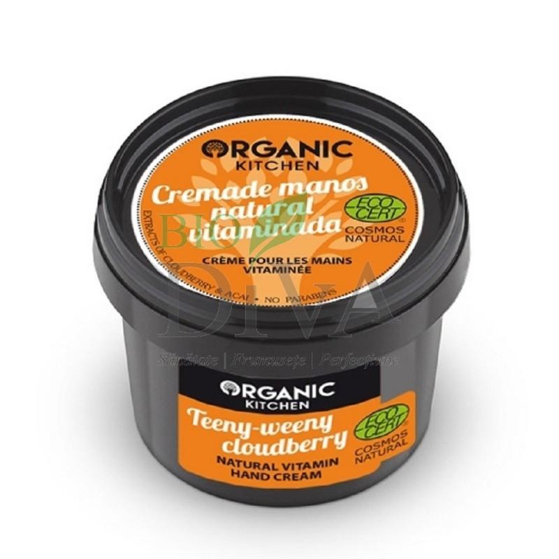 Cremă de mâini cu vitamine Cloudberry 100 ml Organic Kitchen