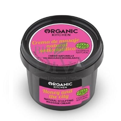 Cremă modelatoare pentru masaj Honey of the city 100 ml Organic Kitchen