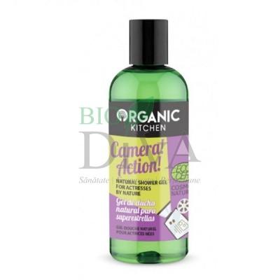 Gel de duș bio cu extract de mango Camera Action 260 ml Organic kitchen