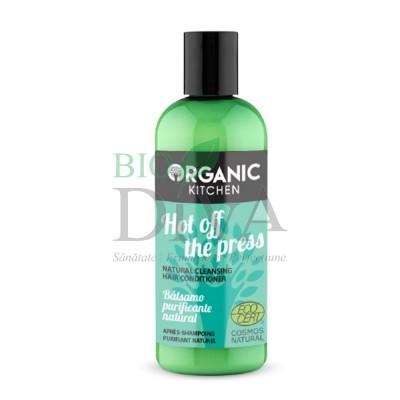 Balsam de păr purificator cu mentă Hot Off The Press 260 ml Organic Kitchen