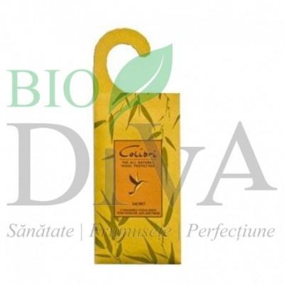 Saculet parfumat cu lemongrass Colibri MAROMA